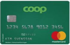 Coop Mer - Kreditkort som ger bra bonus på matinköp.