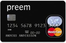 Preem - Kreditkort för dig som tankar mycket.