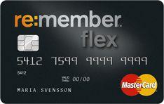 Remember Flex - Kreditkort med flexibel återbetalning.
